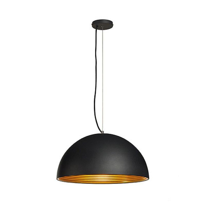 pendelleuchte forchini m pd 1 50 cm schwarz gold. Black Bedroom Furniture Sets. Home Design Ideas