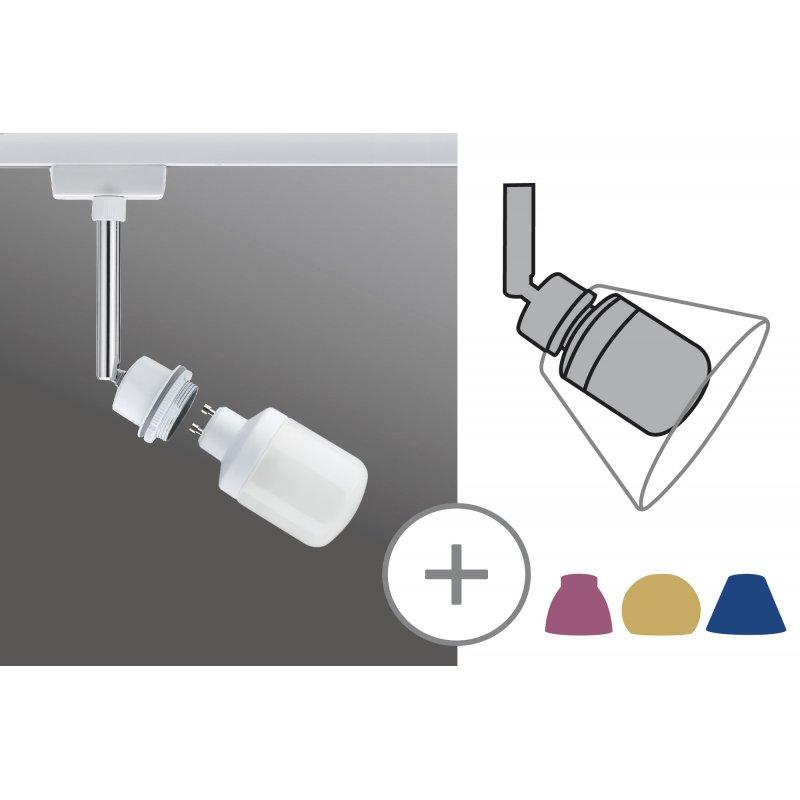 paulmann urail energiespar spot 1x9w decosystems 230v. Black Bedroom Furniture Sets. Home Design Ideas
